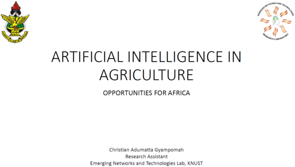 RAIN-Africa: Slides from Responsible AI and Agriculture workshop on 22 July 2020